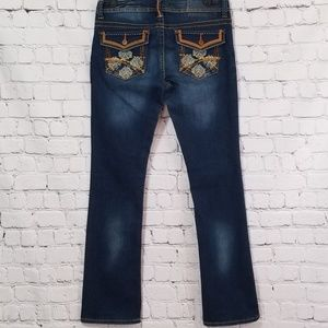 Unionbay ThickThread Suede Detail Skinny Boot Jean
